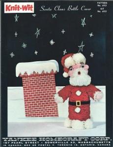 Santa Bottle Cover