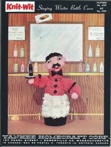 Singing Waiter Bottle cover